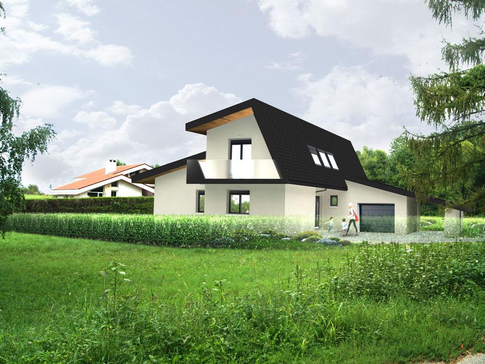 Herbeys maison architecte