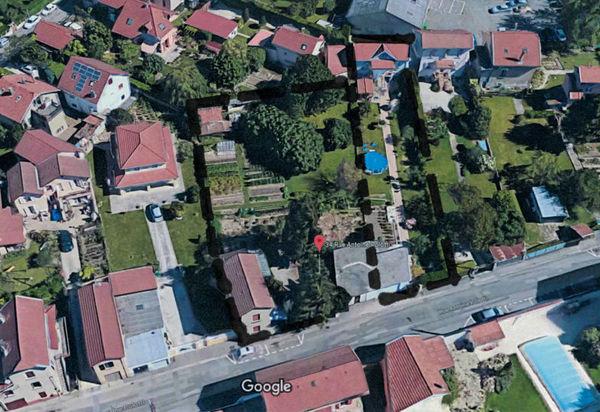 Parcelles de terrains projet de division Fontaine